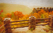Kathleen K Parker - Overlook - Fall in West Virginia