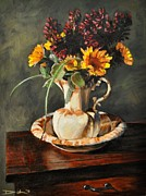 Wooden Bowl Originals - Overlooked Flowers on Valentines Day by David Larsen
