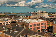 Kathleen K Parker - Overlooking the French Quarter and Mississippi River in New Orleans