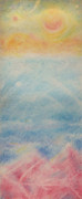 Otherworldly Pastels Prints - Overview Print by Joel Rudin