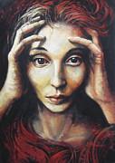 Overwhelmed Print by Elena Oleniuc
