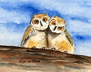 Lyn DeLano - Owl Babies