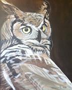 Owl Print by Rayna DeHoog