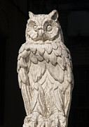 Statuary And Mannequins - Owl Sculpture by Robert Ullmann