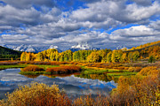Signed Photo Prints - Oxbow Autumn 2013 Limited Edition Print by Greg Norrell