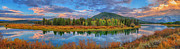 Greg Norrell - Oxbow Bend Early Autumn...