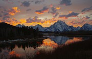 Moran Originals - Oxbow Sunset by Dave Bower