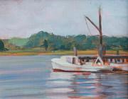 Susan Bradbury - Oyster Boat on the...