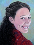 Pastel Portrait Pastels - Ozark Beauty by Tanja Ware