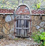 Courtyards Photos - Ozark Gate by Jan Amiss Photography