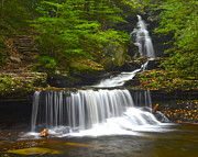 Lagoon Prints - Ozone Falls Print by Robert Harmon