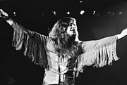 Fringe Jacket Photos - Ozzy Osbourne by Steven Macanka