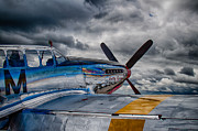 P-51 Photo Posters - P-51 Mustang Poster by Mike Burgquist