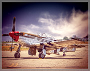 Oldzero Photos - P-51 Mustang Reworked by Steve Benefiel