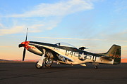 P-51 Photos - P-51 Mustang by Saya Studios