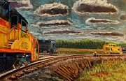 Caboose Pastels - P M to follow #91 by Tim  Swagerle