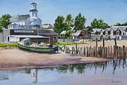 P' Town Boat Works Print by Karol Wyckoff