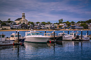 Meats Prints - P-Town Harbor Print by Susan Candelario