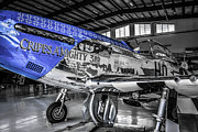 P51 Mustang Originals - P51 Blue by Chris Smith
