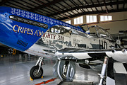 P51 Mustang Originals - P51 Mustang Blue by Chris Smith