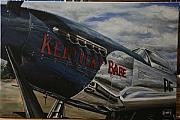 P51 Mustang Originals - P51 Mustang Kentucky Babe WARBIRD by Richard John Holden