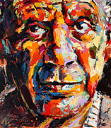 Portraits Paintings - Pablo Picasso by Derek Russell