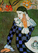 Lois Picasso - Pablo Picasso Harlequin