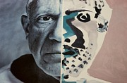 Pablo Picasso Digital Art Prints - Pablo Print by Rob Hans