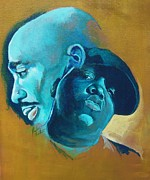 Biggie Art - Pac and Big by Reuben Cheatem