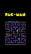 Video Art - Pac Man Phone Case by Mark Rogan
