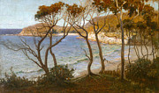 Famous Artists - Pacific beaches by Albert Hanson