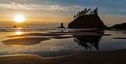 Pacific Photos - Pacific Coast Sunset by Mike Reid