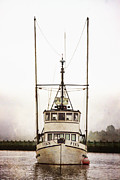 Fishing Vessel Framed Prints - Pacific Northwest Morning Framed Print by Carol Leigh