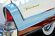 Classic Car Photography Posters - Packard Taillight Poster by Jill Reger