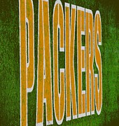 Pro Football Teams Framed Prints - Packers Framed Print by Deena Stoddard
