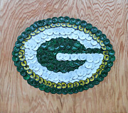 Green Bay Packers Mixed Media - Packers by Kay Galloway