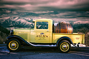 Avl Framed Prints - Packs Tavern Truck Framed Print by John Haldane