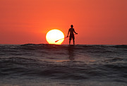 Nathan Miller - Paddle Board Sunset