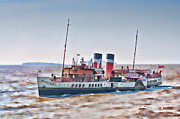 Paddle Steamer Waverley Print by Steve Purnell