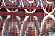 Paddle Wheel Print by AnnaJo Vahle
