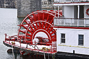 Boutique-hotel Framed Prints - Paddle Wheel Framed Print by Tom and Pat Cory