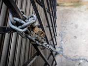 Justin Woodhouse - Padlock and Chain