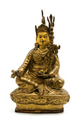 The Buddha Metal Prints - Padmasambhava Metal Print by Fabrizio Troiani