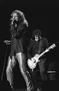 Jimmy Page And Robert Plant Posters - Page and Plant Poster by Front Row  Photographs