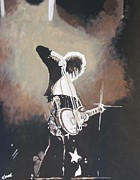 Jimmy Page Paintings - Page by Jeremy Moore