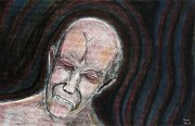 Anger Pastels - Pain by Sean Mitchell