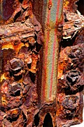 Jim Wright Acrylic Prints - Paint and rust 26 Acrylic Print by Jim Wright