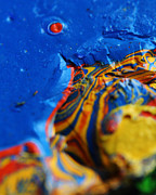 Layer Prints - Paint Booth Geology 6 Print by Scott Hovind