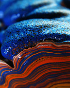 Layer Prints - Paint Booth Geology 9 Print by Scott Hovind