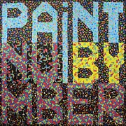 Paint Tapestries - Textiles Posters - Paint By Number Poster by Bob Hoffmann
